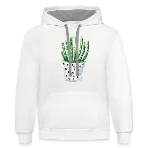 Cactus - Contrast Hoodie