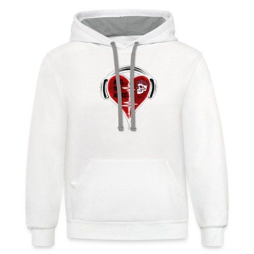 Axelofabyss Music in your heart - Contrast Hoodie