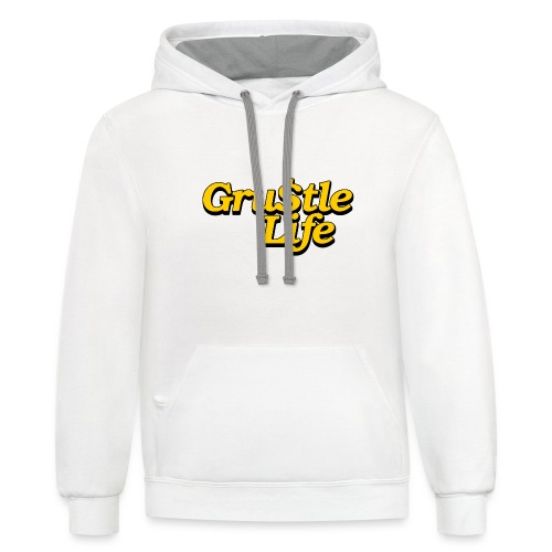 GRUSTLE LIFE FAMILY MATTERS - Contrast Hoodie