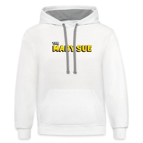 The Mary Sue Hoodie - Unisex Contrast Hoodie