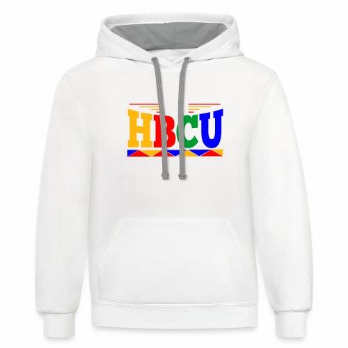 HBCU MAN - Contrast Hoodie