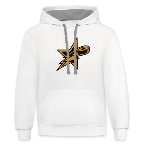 2BC All Stars Logo - Unisex Contrast Hoodie