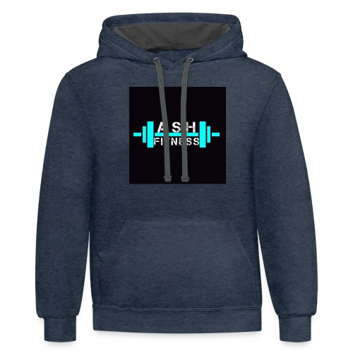 ASH FITNESS ACCESSORIES - Contrast Hoodie