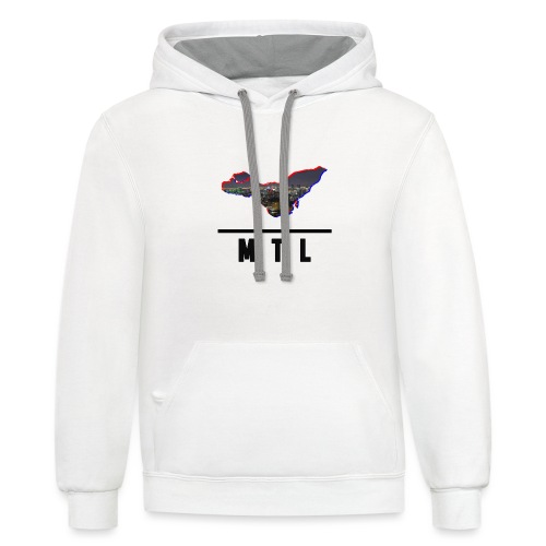 MTL Shirts First Edition - Unisex Contrast Hoodie