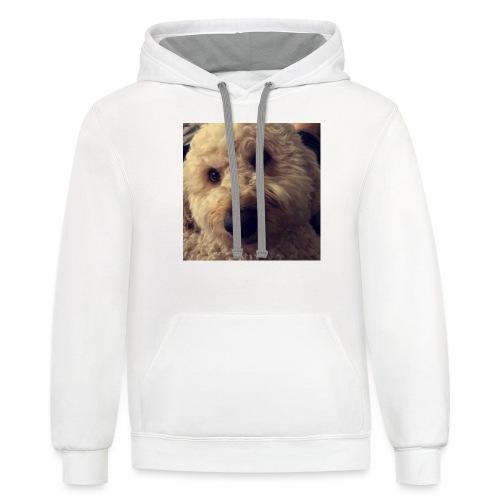 Dog Lover - Unisex Contrast Hoodie