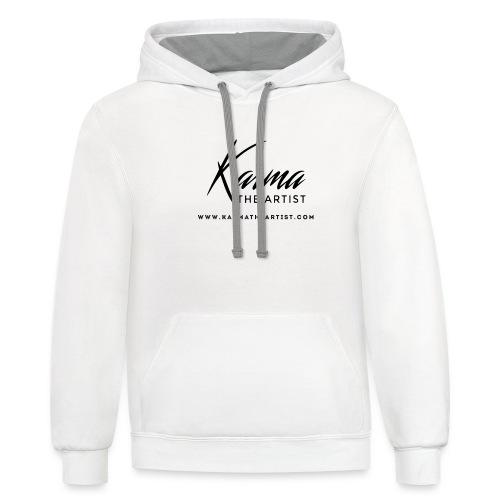 Karma - Unisex Contrast Hoodie