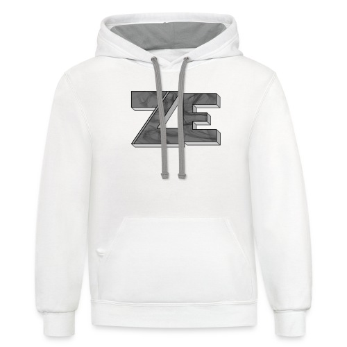 Ze - Contrast Hoodie
