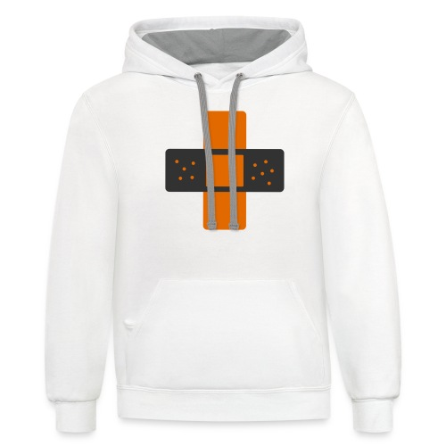 bloggingaid-icon - Contrast Hoodie