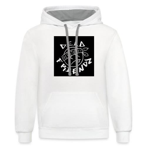 D.E.A.D FRIENDZ Records - Contrast Hoodie