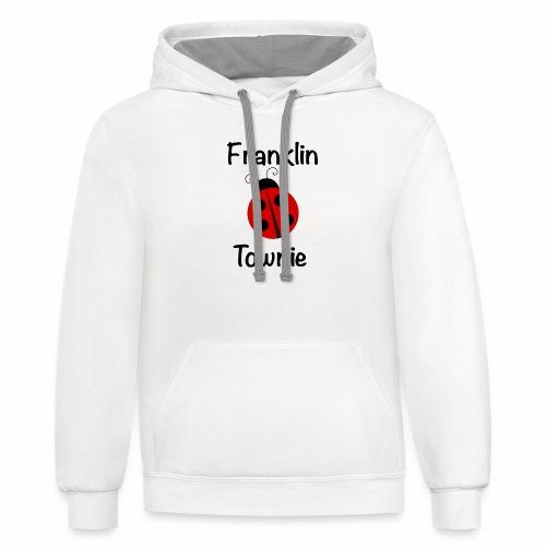 Franklin Townie Ladybug - Contrast Hoodie