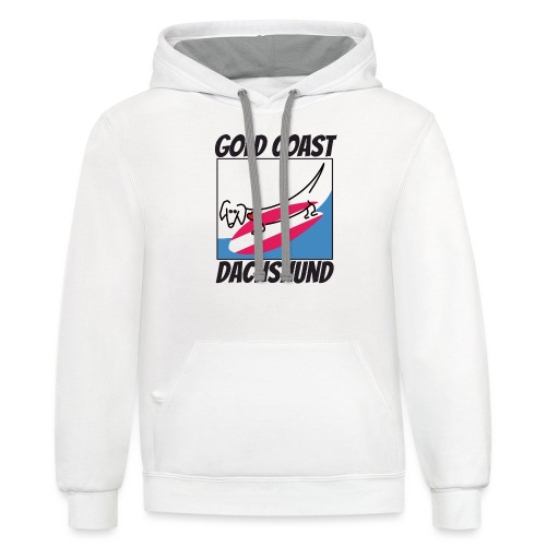 Gold Coast Dachshund - Contrast Hoodie