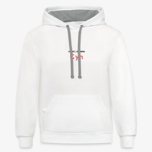 Expla1n what 1 Do Premium Print - Contrast Hoodie
