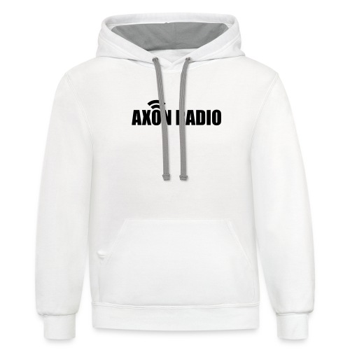 Axon Radio | Midnight label apparel - Unisex Contrast Hoodie