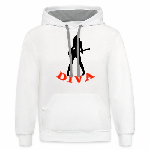 Rock Star Diva - Contrast Hoodie