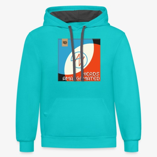 Top Shelf Nerds Cover - Contrast Hoodie