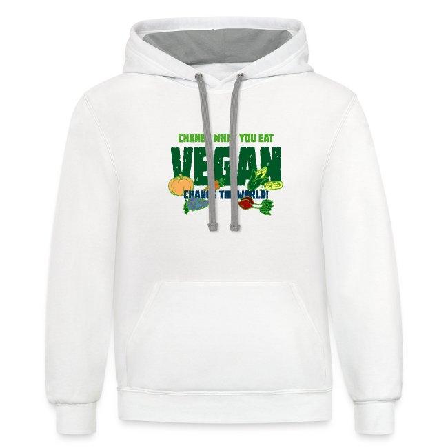 Change what you eat, change the world - Vegan