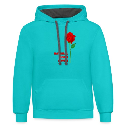 Natural Born Lover - I'm a master in seduction! - Contrast Hoodie