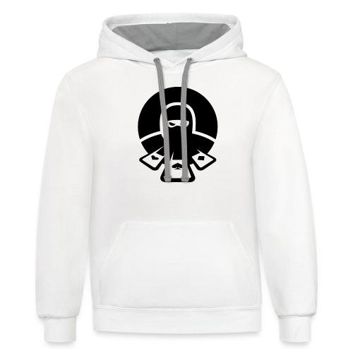 Nertz Master Icon Midnight - Unisex Contrast Hoodie