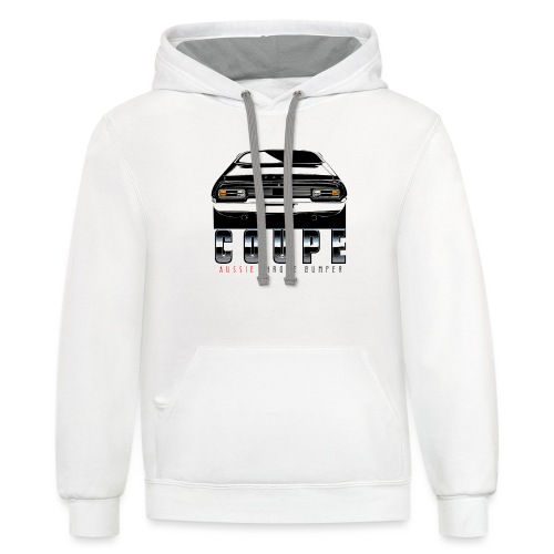 XB COUPE AUSSIE - Contrast Hoodie