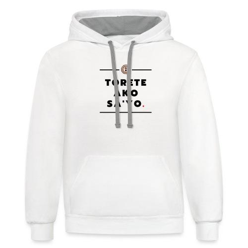 Torete t Shirt - Contrast Hoodie