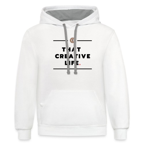 that creative life - Contrast Hoodie