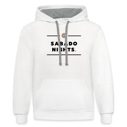sabado Nights - Unisex Contrast Hoodie