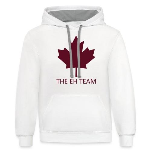 The EH Team - Contrast Hoodie