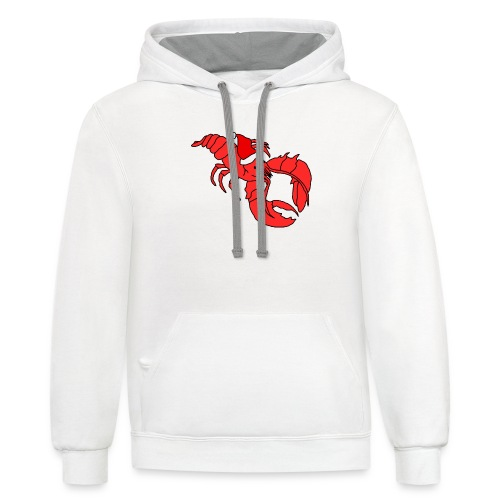 What Child Is Bisque - Contrast Hoodie