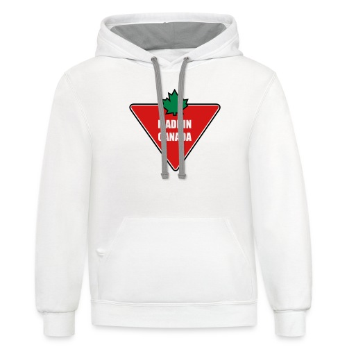 Made in Canada Tire - Contrast Hoodie