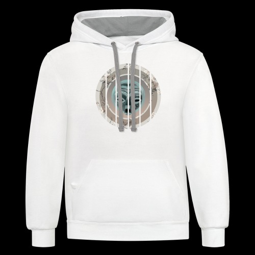 AfroChi 2 A - Contrast Hoodie