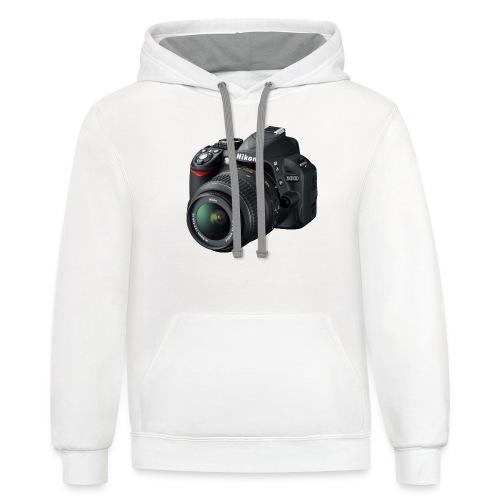 photographer - Unisex Contrast Hoodie