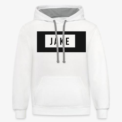 Jake logo - Contrast Hoodie