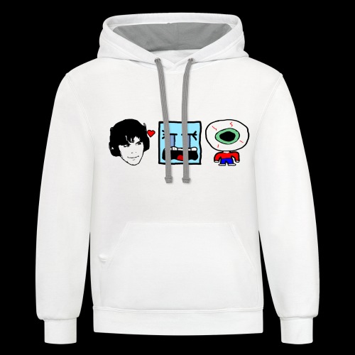 Onision Twitch Shirt - Unisex Contrast Hoodie