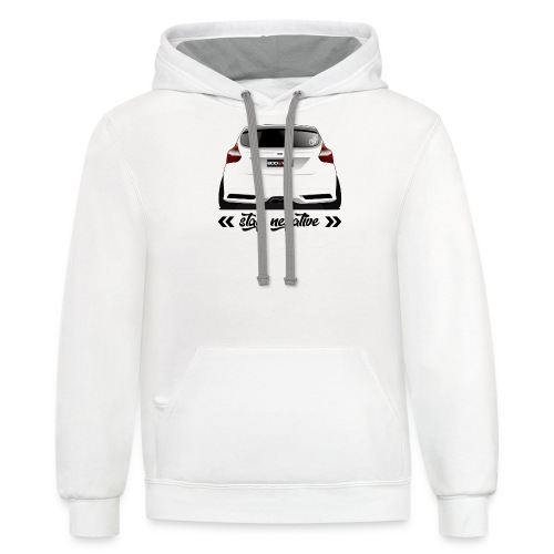 Stay Negative - FoST Edition - Contrast Hoodie