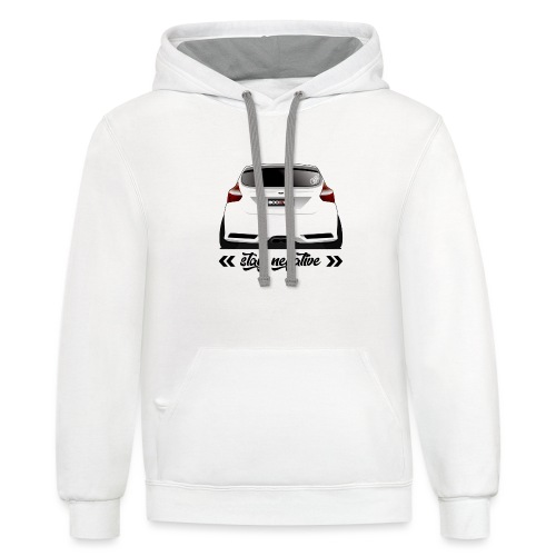 Stay Negative - FoST Edition - Unisex Contrast Hoodie