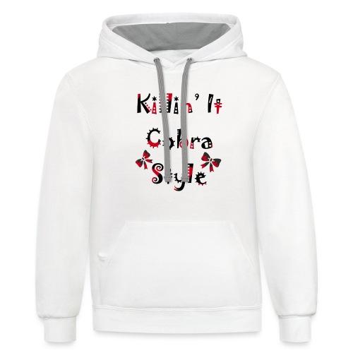 Killin' It Cobra - Contrast Hoodie