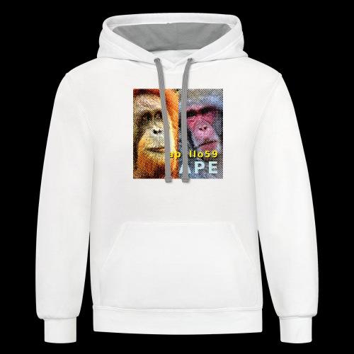 APE - Apollo59 Cover Art - Unisex Contrast Hoodie