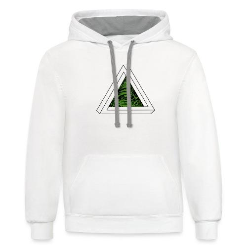 Impossible Illuminati - Contrast Hoodie