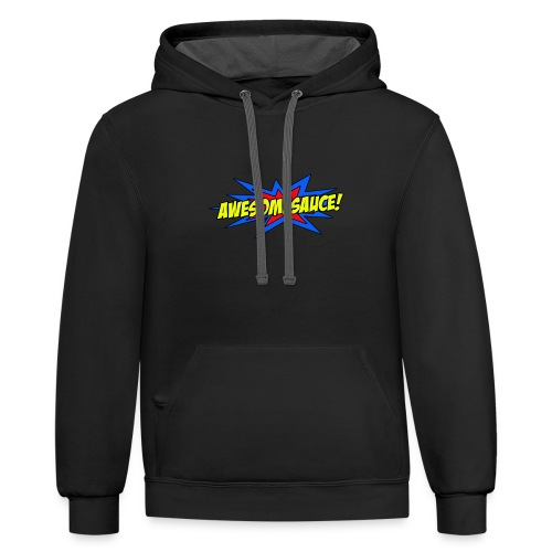Awesomesauce - Contrast Hoodie