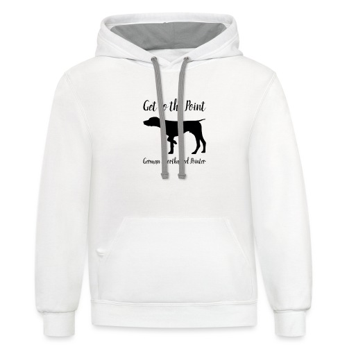 GSP. Get to the Point. - Contrast Hoodie