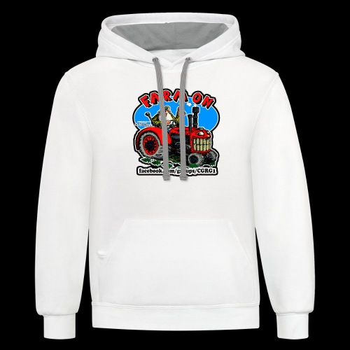 Mr Natural Farm On - Contrast Hoodie