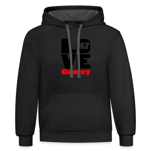 lovecooley - Unisex Contrast Hoodie