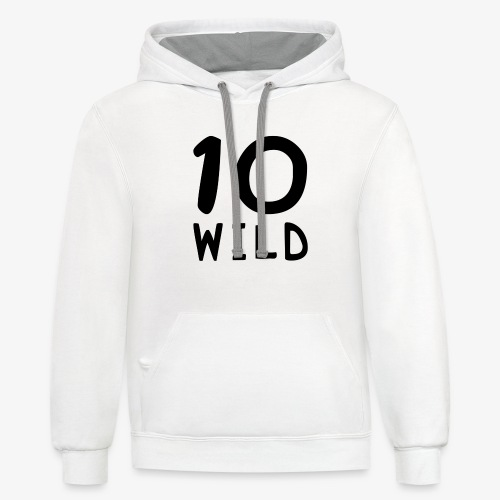 10 Wild - Unisex Contrast Hoodie