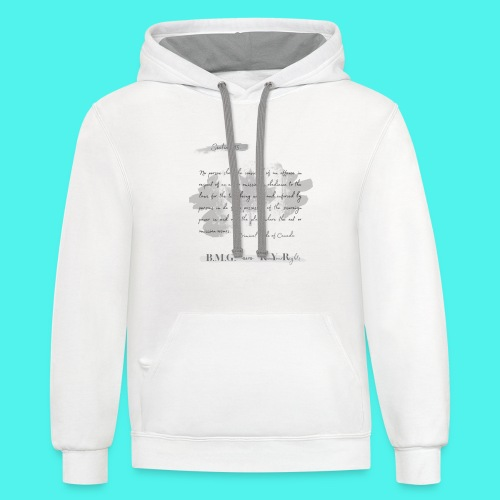 Section15 Criminal Code of Canada - Unisex Contrast Hoodie