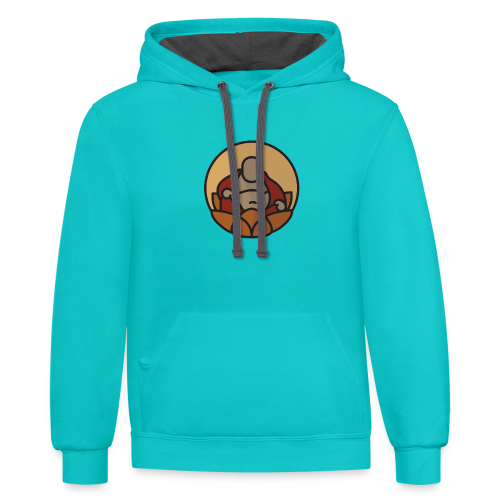 AMERICAN BUDDHA CO. COLOR - Contrast Hoodie