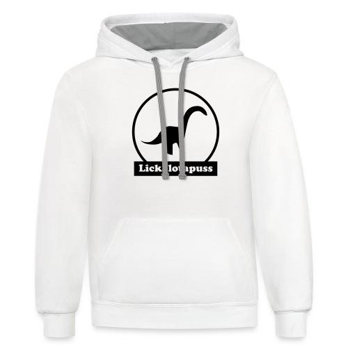 Lickalotapuss - Unisex Contrast Hoodie