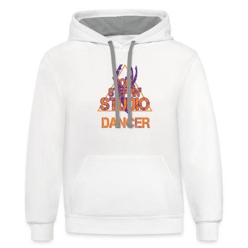 SOUL STEP DANCER - Contrast Hoodie