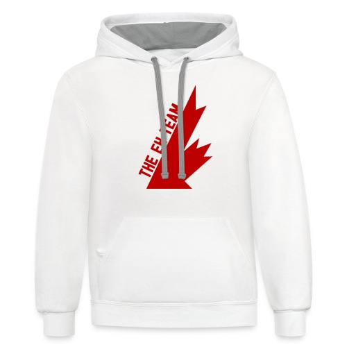 The Eh Team Red - Contrast Hoodie