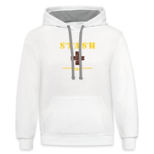STASH-Final - Contrast Hoodie