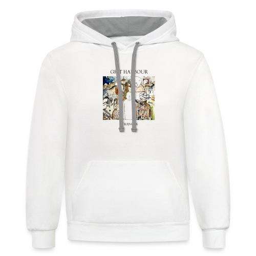 Grit Harbour Stranger T-Shirt - Contrast Hoodie